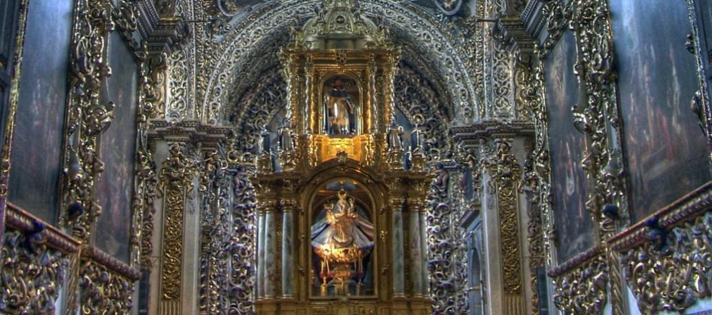 Capilla del Rosario. Puebla de los Ángeles. México