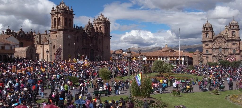 Plaza de Armas. Cuzco. Perú.